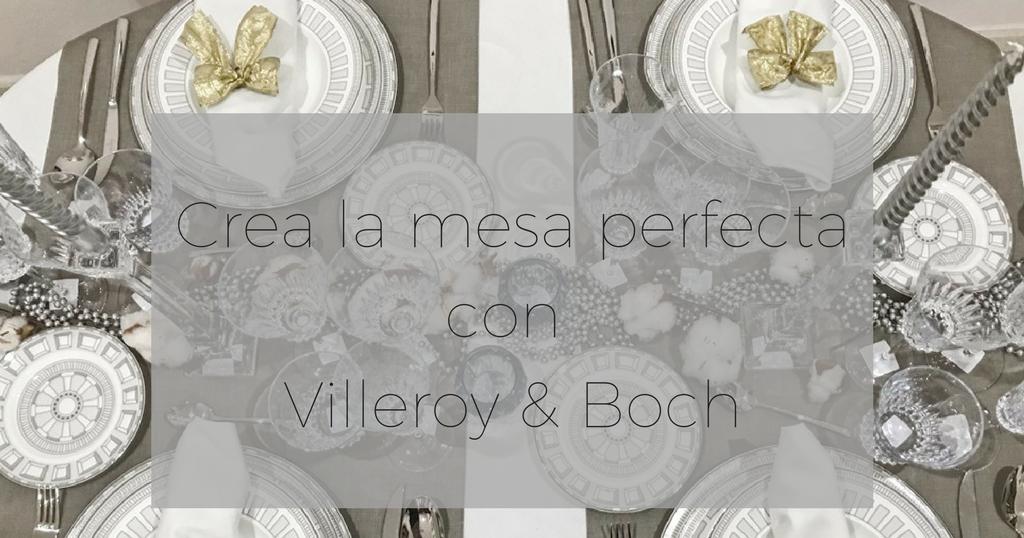 Como hacer la mesa perfecta para navidad y triunfa entre for Villeroy boch navidad 2017