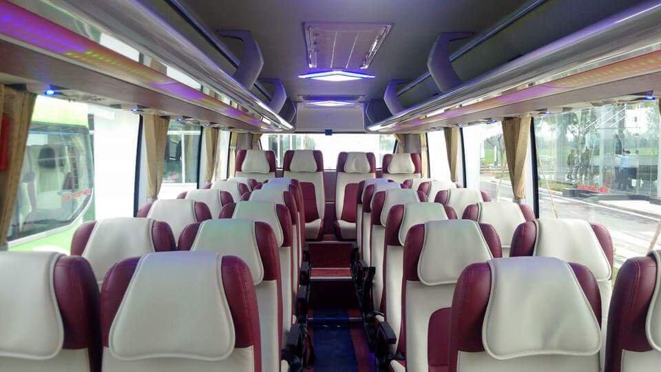 Ghế xe khách 29 chỗ Thaco tại Hải Phòng