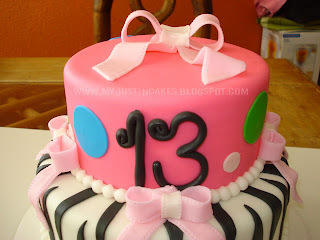 Just In Cakes 13 Year Old Girl Birthday Cake