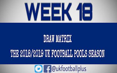 WEEK 18: UK FOOTBALL POOLS | 10-11-2018 | www.ukfootballplus.com.ng