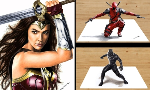 00-Jasmina-Susak-Superheroes-and-Villains-in-2d-and-3d-Drawings-www-designstack-co