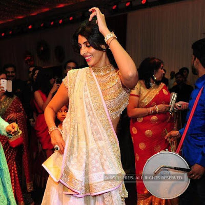 Shweta Nanda in Kunal Kapoor & Naina Bachchan Wedding Reception