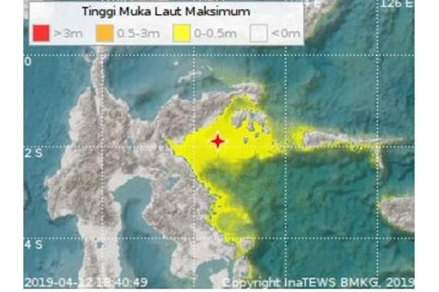 Gempa 6,9 M Guncang Palu Berpotensi Tsunami, Warga Berhamburan