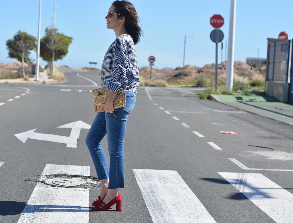 streetstyle-outfit-mango-jeans-tendencia-vichy