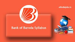 Bank of Baroda Senior Relationship Manager Syllabus