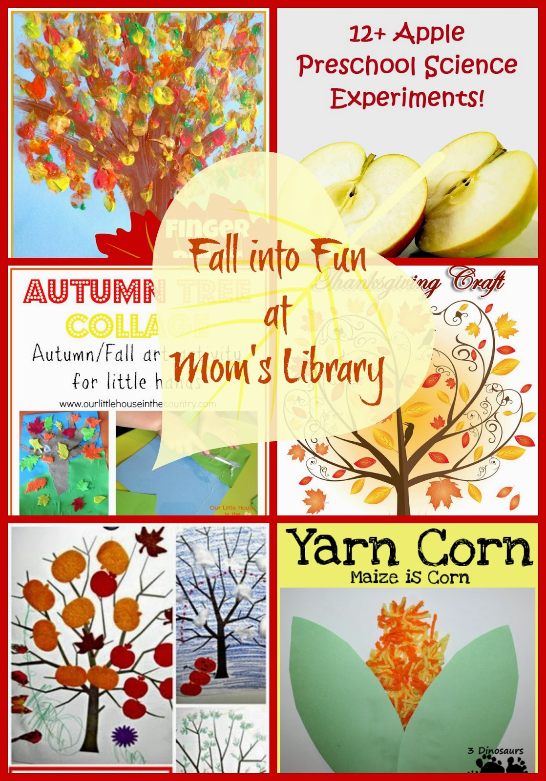 Fall into Fall Fun at Mom's Library