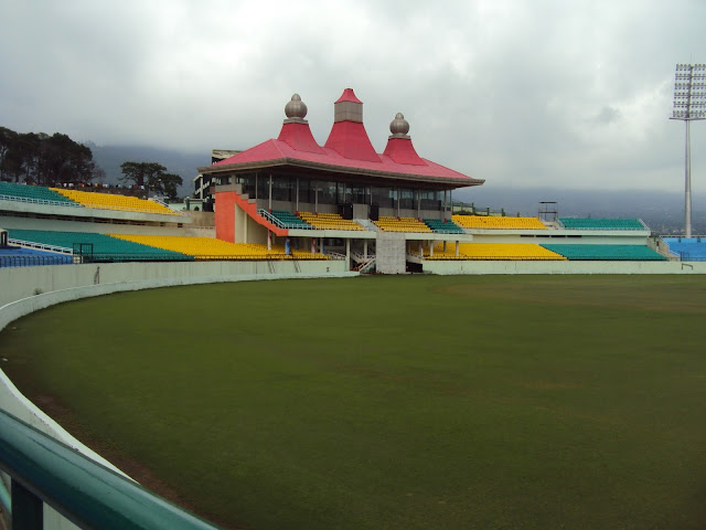 stadium in dharmshala