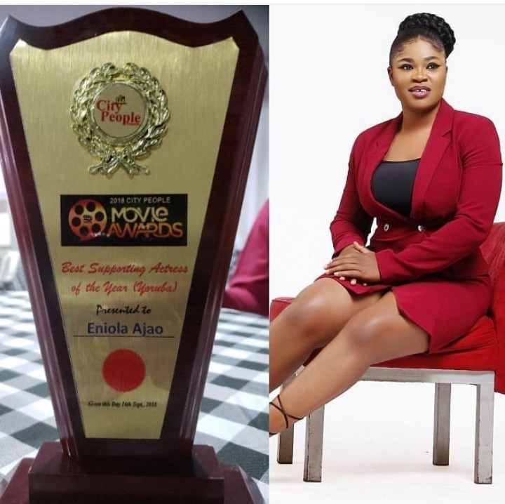 Actress Eniola Ajao City People Award