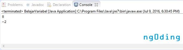 Cara Menciptakan Variabel Dalam Bahasa Pemrograman Java