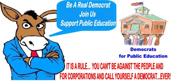 Image result for big education ape democrat