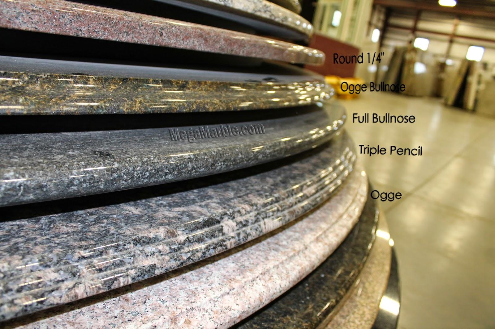 Countertop Edge Profiles Mega Marble