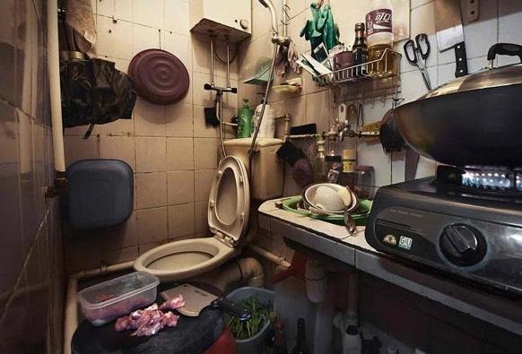 Apartmen Sempit Buat Rakyat Miskin di Hong Kong