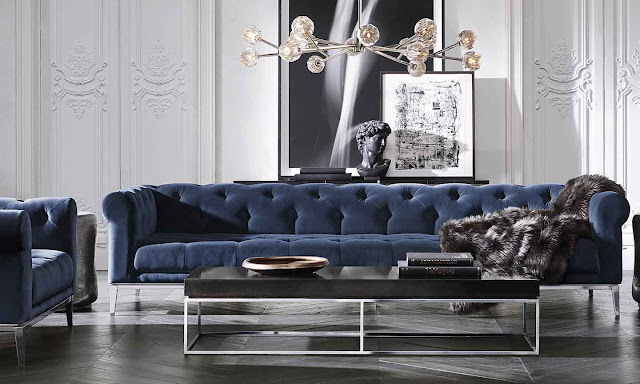 Tufted Sofa Velvet Sleeper Reviews The Style Saloniste: What's Truly Modern And Exciting Now ...