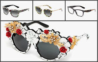 Sunglasses in Sicilian style by Dolce & Gabbana