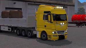 MAN TGX 2010 v3.2 truck mod