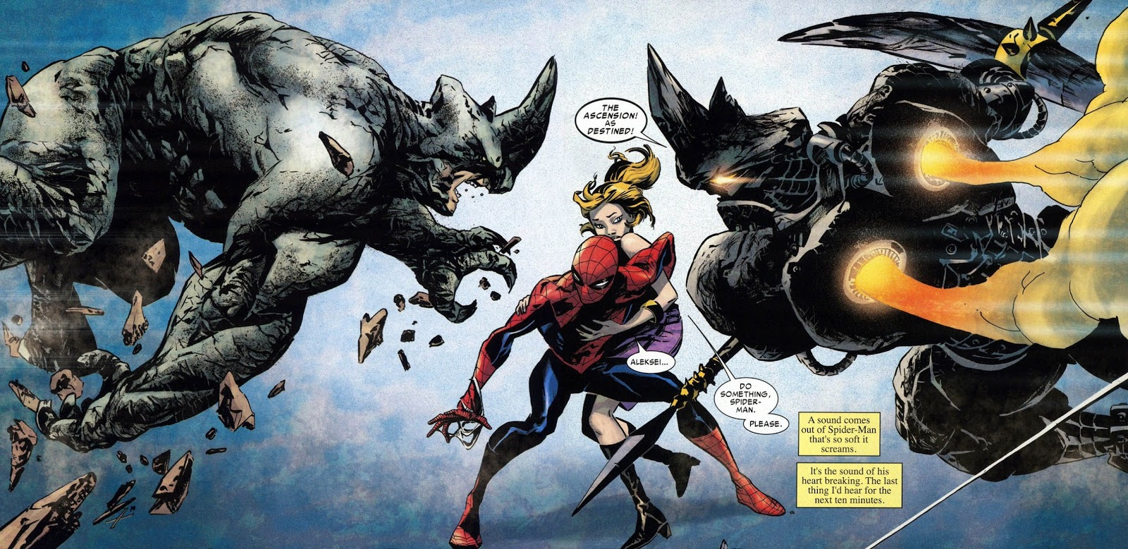 ORÍGENES: ¿Quién es RHINO? - The Amazing Spiderman 2 ...