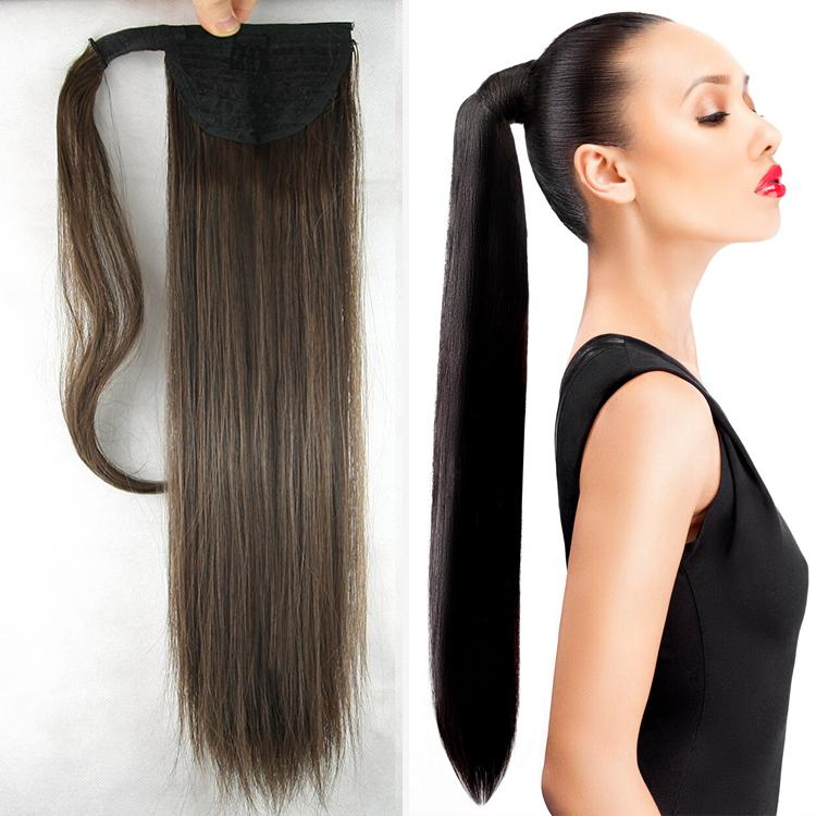 Human Hair Ponytail Hair Extension