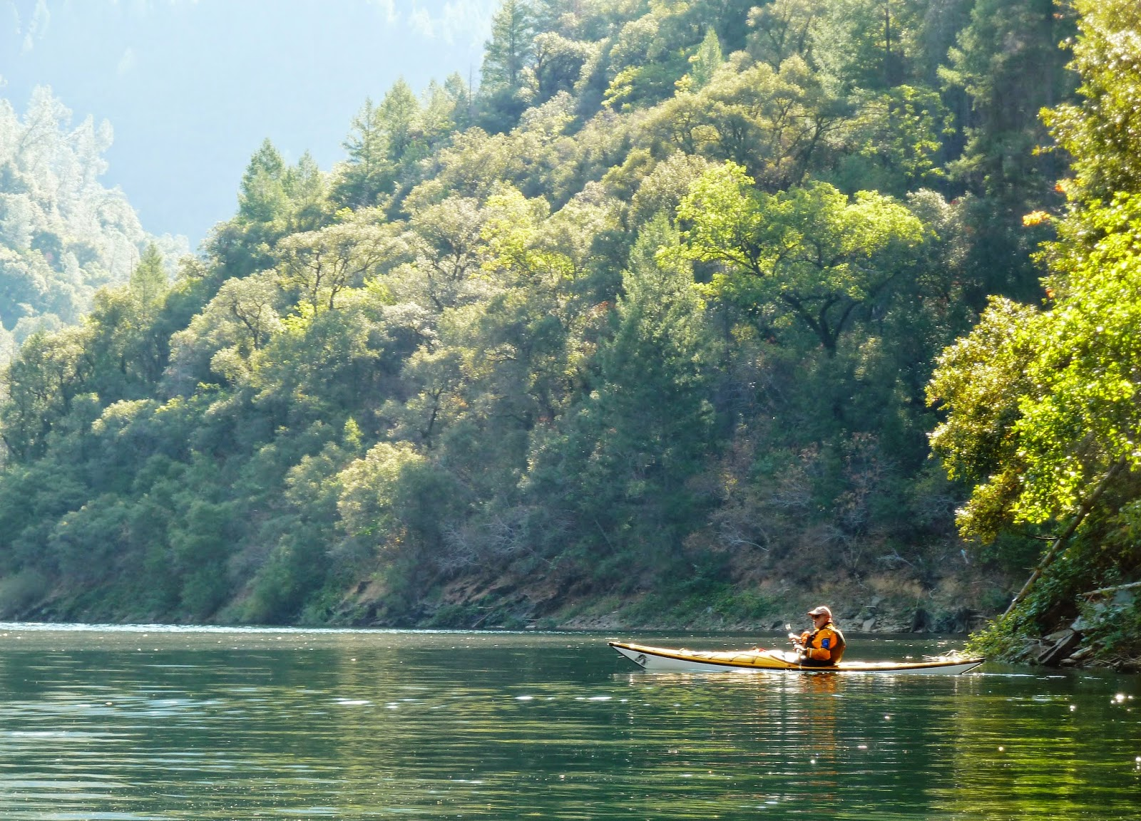 NORCAL YAK: Kayaking paradise found, then nearly lost to fire
