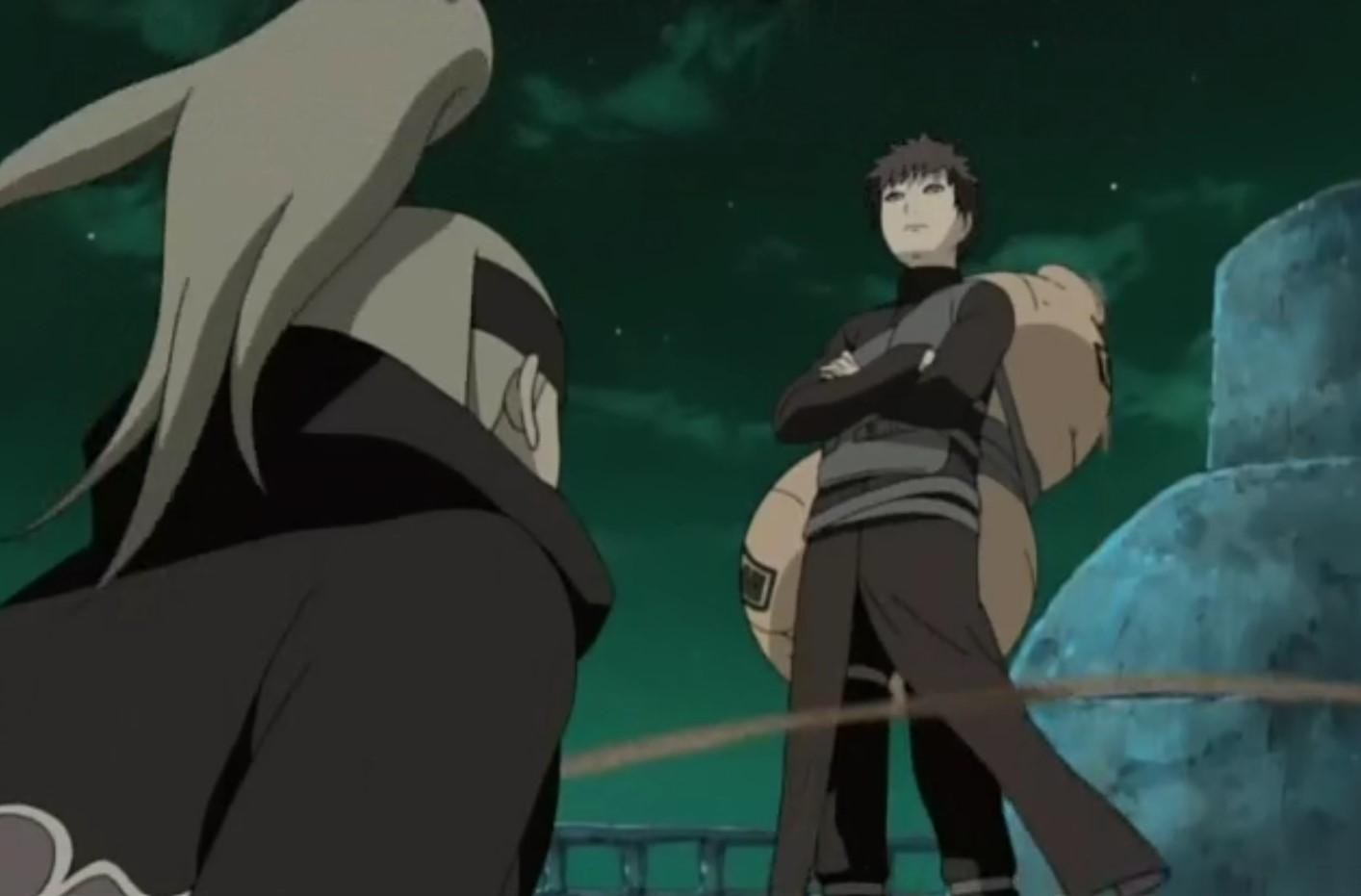 Naruto Shippuden: Episódio 04 – O Jinchuriki da Areia