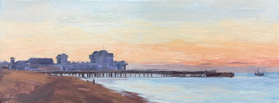 #143 'South Parade Pier, Southsea' 6×15.5″