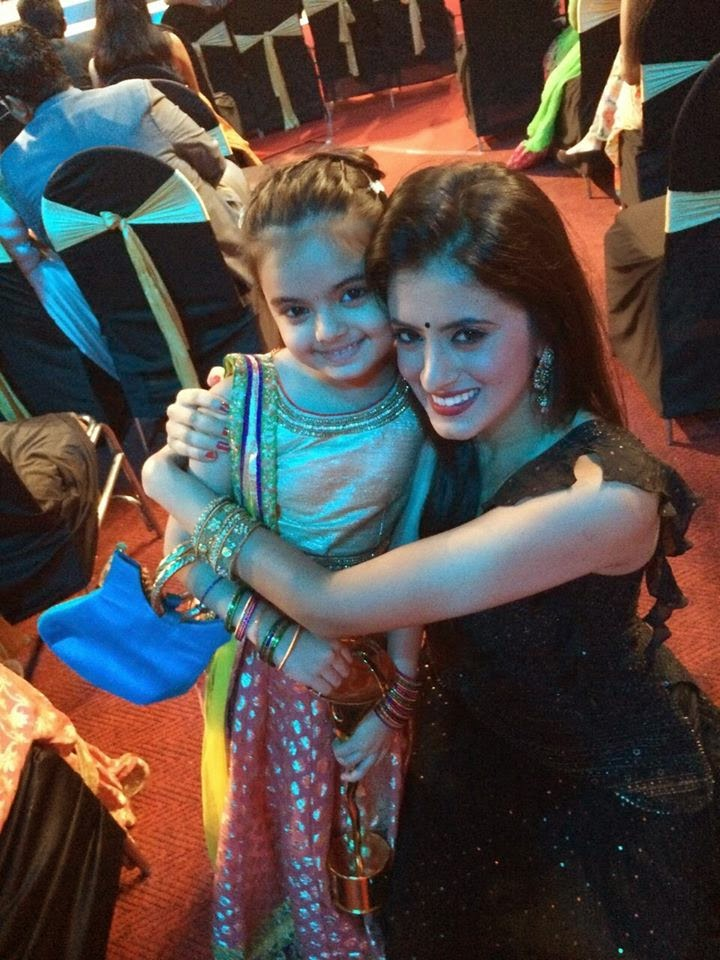 Mihika Verma with ruhi