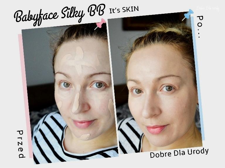 It`s Skin Babyface Silky BB - Koreański krem BB do cery mieszanej i tłustej  recenzja