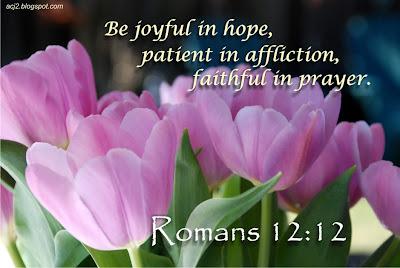 joyful in hope Romans 12:12