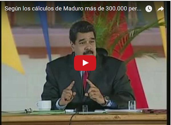 Según Maduro 300.000 personas viajaron al exterior a Fin de Año