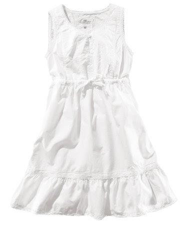 H M White Summer Dresses