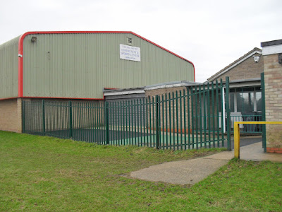 PICTURED: The Phil Grundy Sports Centre, Broughton - see Nigel Fisher's Brigg Blog