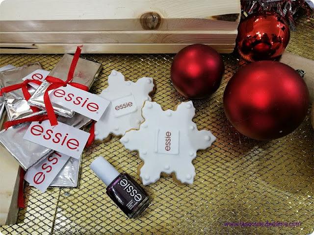 essie belleza esmaltes uñas navidad