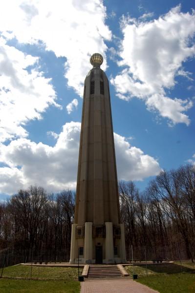 Самая большая лампочка в мире, Едисон, Нью-Джерси(World's Largest Light Bulb, Edison, NJ)