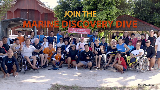 If you are interested to join this Marine Discovery Dive and help people at the same join, join them!