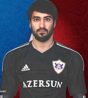 PES 2017 Faces Mahir Madatov by Huseyn