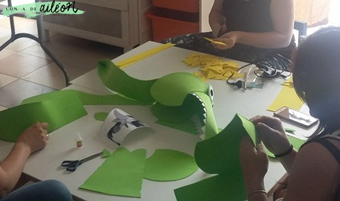 Disfraz De Cocodrilo Con Goma Eva Handbox Craft Lovers Comunidad