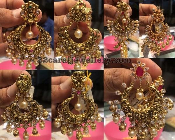 Nakshi Chandbalis by Premraj Jewellers