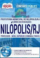 Prefeitura de Nilópolis RJ PROFESSOR NÍVEL SUPERIOR