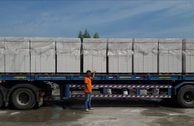 Buriram AAC Insulated House Wall Blocks delivery