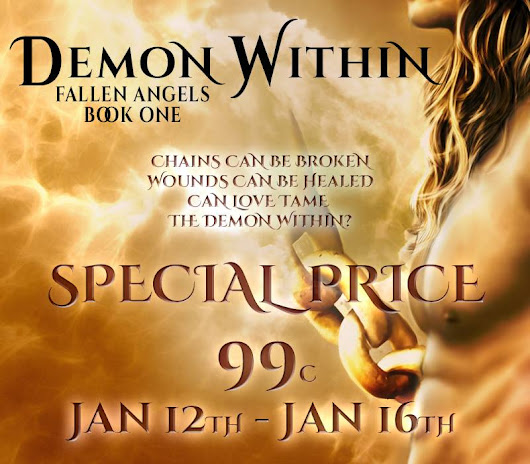 Only #99Cents For 5 #Days Only: #Demon #Within By Julie Nicholls!!