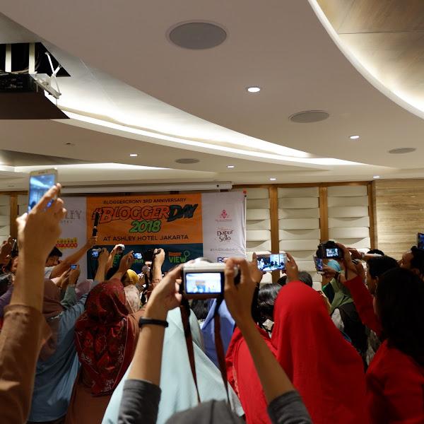 Blogger Day 2018 Di Ashley Hotel Jakarta, Melekat Dihati