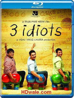 3 Idiots Full Movie Download (2009) 1080p & 720p BluRay