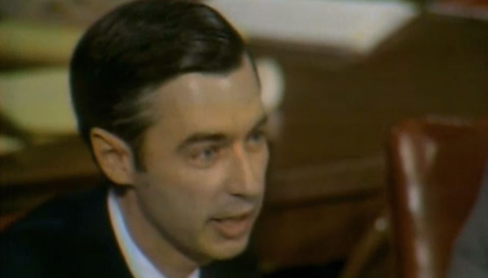 Mr Rogers Defending The Public Broadcasting Service From Congress Dummies Mad Bracket Status