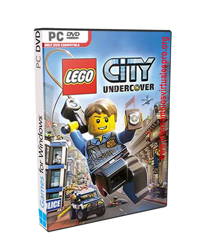 LEGO City Undercover poster box cover