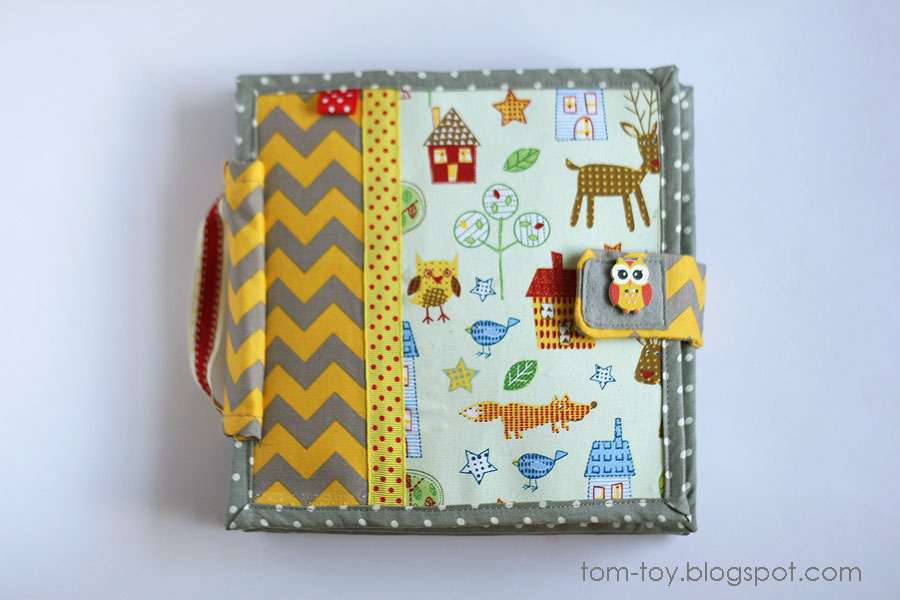 Quiet book chevron
