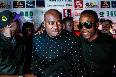 Iyanya at African Muzik Magazine launch