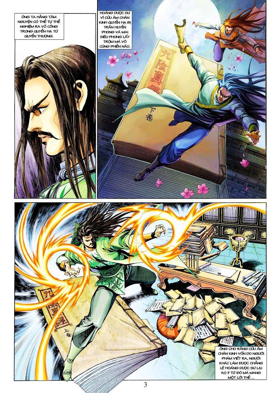 Anh Hùng Xạ Điêu anh hùng xạ đêu chap 33 trang 3