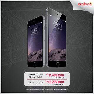 Promo iPhone 6 Promo Diskon Hingga Rp 500 Ribu