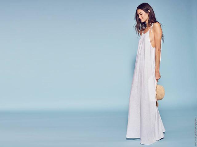 Vestidos primavera verano 2018. Moda minimalista primavera verano 2018.