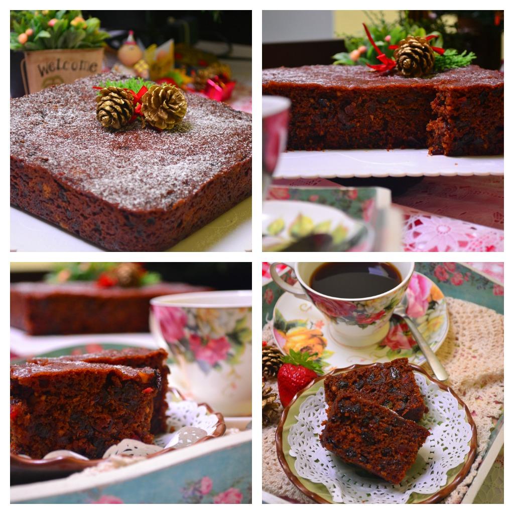 Through The Kitchen Door: Steamed Fruit Cake