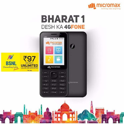 Micromax 4G VoLTE enabled feature phone